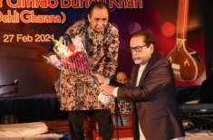 آرٹس کونسل آف پاکستان کراچی کی جانب سے کلاسیکل موسیقی پر مبنی میوزیکل ..