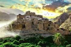 شاندار تہذیبی و تاریخی ورثے کے امین سعودی گاؤں کی خوبصورتی نے لوگوں ..