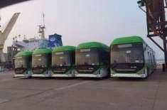 گرین لائن بسیں پہنچتے ہی سندھ حکومت نے بڑا اعلان کر دیا