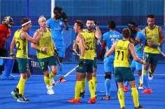 ٹوکیو اولمپکس: بھارتی ہاکی ٹیم کو 1-7 سے شرمناک شکست