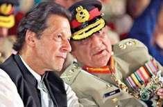 وزیراعظم عمران خان اور آرمی چیف جنرل قمر جاوید باجوہ کا این سی اوسی ..