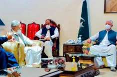 وزیراعلیٰ محمود خان سے تاجروں کی گیارہ رکنی کمیٹی کی ملاقات