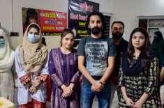 علی زیب فاؤنڈیشن ساہیوال میں ورلڈ بلڈ ڈونر ڈے کے موقع پر بڑی تعداد میں ..