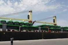 کراچی گرین لائن بسیں لاہور، راولپنڈی اور پشاور کی بسوں سے زیادہ جدیداور ..