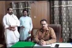 انٹی کرپشن ٹیم نے سرکل آفیسر عرفان اکبر خان کی قیادت میں ٹیم نے ڈسپنسر ..