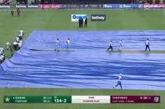 دوسراٹی20،پاکستان اور ویسٹ انڈیز کے درمیان میچ بارش کے باعث روک دیا ..