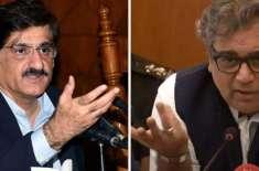 علی زیدی نے رابطہ میٹنگ میں پارلیمانی زبان اور رویے کا لحاظ نہیں کیا،وزیراعلیٰ ..