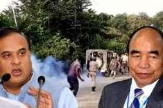 بھارتی ریاستوں آسام اور میزورام کے درمیان سرحدی تنازع طول پکڑگیا