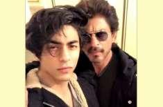 شاہ رخ خان کی جیل میں اپنے بیٹے آریان سے ملاقات، ویڈیو وائرل