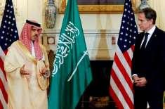 امریکا اور سعودی عرب کا اسٹریٹجک شراکت داری اور تعاون کو مضبوط بنانے ..