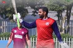 پاکستان کپ ، آصف علی نے 70 گیندوں پر سنچری سکور کرڈالی