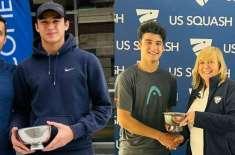 Huzaifa Ibrahim wins US Under-17 Junior Open Squash Championship Pakistani wins US title