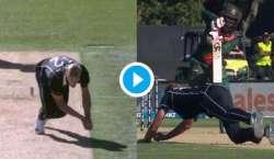 نیوزی لینڈ کے خلاف میچ ،تھرڈ امپائر نے واضح کیچ آئوٹ ہونے کے باوجود ..