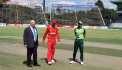 دوسرا ٹی ٹونٹی ، پاکستان کا زمبابوے کیخلاف ٹاس جیت کر فیلڈنگ کا فیصلہ