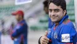 خواہش ہے افغان کرکٹ ٹیم پاکستان میں آکر کھیلے :راشد خان