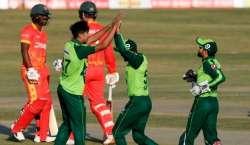 پاکستان اور زمبابوے کے درمیان دوسرا ٹی 20 انٹرنیشنل میچ کل کھیلا جائے ..
