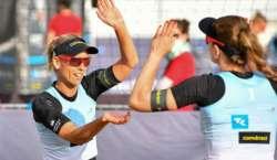 بکنی پر پابندی ،والی بال کی 2 جرمن کھلاڑیوں نے قطر میں ٹورنامنٹ کا بائیکاٹ ..