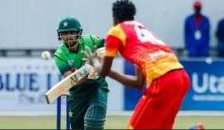 پاکستان اور زمبابوے کے مابین ٹیسٹ سیریز کا آغاز کل سے ہوگا