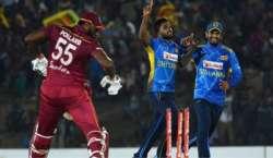 ویسٹ انڈیز اور سری لنکا کی کرکٹ ٹیموں کے درمیان دوسرا  ٹی-20 انٹرنیشنل ..