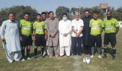پشاور فٹبال لیگ سیزن فور طہماس خان فٹبال سٹیڈیم میں شروع ہوگئی