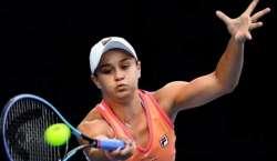 ایشلی بارٹی میڈرڈ اوپن ٹینس ویمنز سنگلز مقابلوں کے دوسرے رائونڈ میں ..