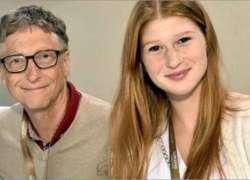 بل گیٹس کی بیٹی بھی والدین کی علحیدگی پر بول پڑیں