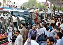 پردیسیوں کیلئے بڑی خبر، پنجاب میں ہفتہ، اتوار کو انٹرسٹی ٹرانسپورٹ ..
