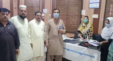 تحصیل ہیڈ کوارٹر ہسپتال شرقپور شریف میں ویکسینشن کا عمل تیزی سے جاری، ..