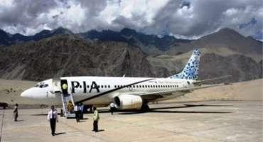 ملک میں سیاحت کے فروغ کیلئے اقدامات، پی آئی اے کی پہلی ایئر سفاری پرواز ..
