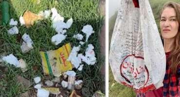 کینیڈین وی لاگر روزی گیبریل پاکستان کے سیاحتی مقام ہنزہ میں کچرا اور ..