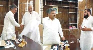 مرکزی انجمن تاجران پنڈدادن خان کی ایگزیکٹو باڈی کے چیئرمین فوکل پرسن ..