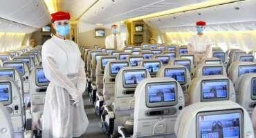 کورونا وبا کی وجہ سے ایمریٹس ایئر لائن کو پہلی بار خسارہ ہوا ہے