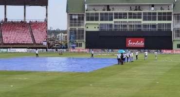 پاکستان اور ویسٹ انڈیز کے مابین سیریز کا تیسرا ٹی ٹونٹی بھی بارش کی ..