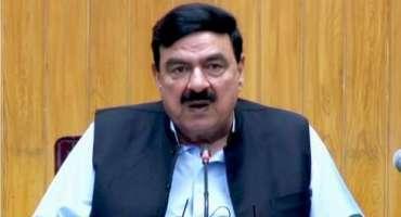 وفاقی وزیر داخلہ شیخ رشید نے شمالی وزیر ستان کے علاقے میران شاہ میں ..