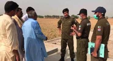 ڈسٹرکٹ پولیس آفیسر وہاڑی امیر عبداللّہ خان نیازی نے امین پور کرمپور ..