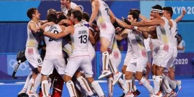 ہاکی : بیلجیم پہلی بار اولمپکس چیمپئن بن گیا