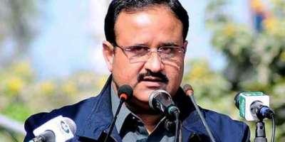 وزیر اعلیٰ پنجاب کا رحیم یار خان کے قریب دو نہروں میں شگاف پڑنے اور ..