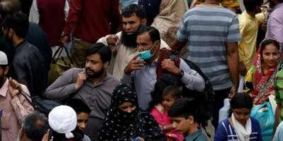 پاکستان کورونا مریضوں کے حوالے سے مرتب کی گئی فہرست میں ایک بار پھر ..