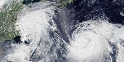سمندری طوفان کراچی کے مغرب اور جنوب مغرب میں موجود ہے، محکمہ موسمیات