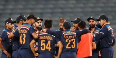 بھارت کا پاکستان کیخلاف میچ کیلئے اپنے 11 کھلاڑیوں کے ناموں کا اعلان ..