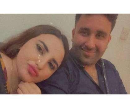حریم شاہ نے اپنی محبت کے ساتھ ایک اور سیلفی سوشل میڈیا پر شیئر کردی
