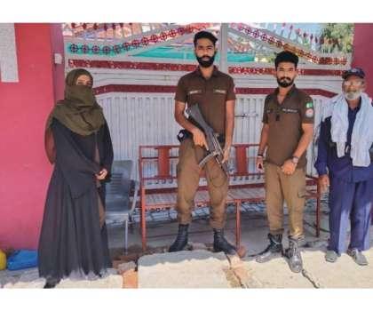 شاکر حسین داوڑ ڈسٹرکٹ پولیس آفیسرجہلم کی ہدایات پر کرسچیئن کمیونٹی ..