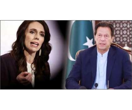 نیوزی لینڈ کی وزیراعظم کی وزیراعظم عمران خان سے کرکٹ ٹیم کا دورہ ملتوی ..