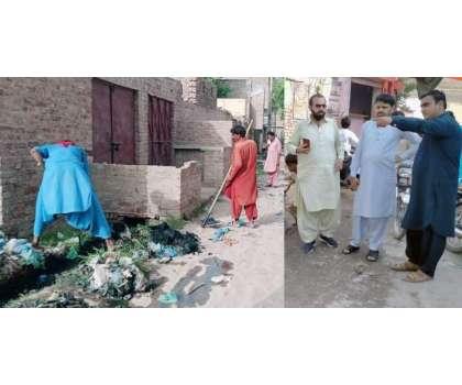 روہڑی شہر  میں صفائی کی صورتحال کو بہتر بنانے کےلئے ہنگامی بنیادوں ..