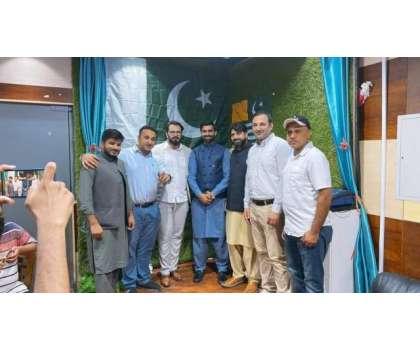 پی ٹی آئی کی آزاد کشمیر اور سیالکوٹ میں جیت کا چشن دبئی میں منایا گیا