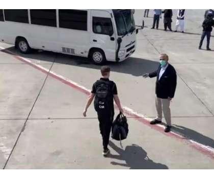 نیوزی لینڈ کی کرکٹ ٹیم کل شام اسلام آباد سے واپس روانہ ہوگی