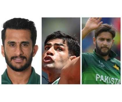 پاکستانی کرکٹرز کا جیولین تھروور ارشد ندیم کو خراج تحسین