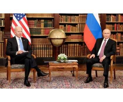 جنیوا میں پہلی بار روس اور امریکی صدر کے درمیان ملاقات