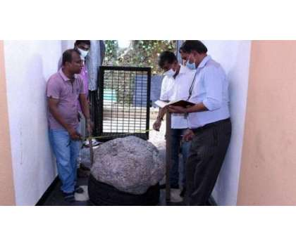 سری لنکا میں 510 کلو وزنی نیلم کا پتھر حادثاتی طور پر دریافت