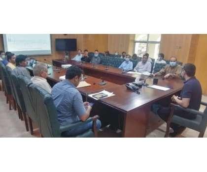 ایڈیشنل ڈپٹی کمشنر جنرل عمر افتخار شیرازی کی زیر صدارت ضلع بھر میں انسداد ڈینگی اقدامات کا جائزہ لینے کیلئے ڈسٹرکٹ ایمرجنسی ریسپانس کمیٹی برائے انسداد ڈینگی کا اجلاس منعقد